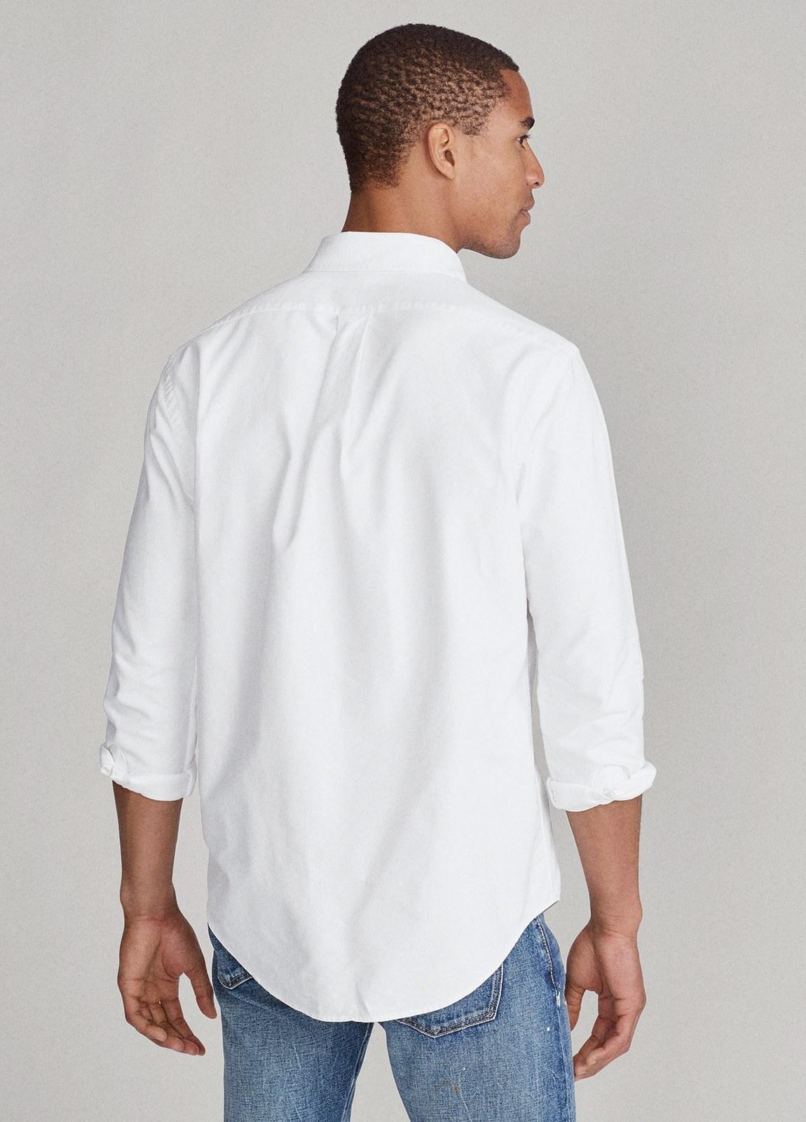 Camisa POLO RALPH LAUREN oxford color blanco - Ítem1