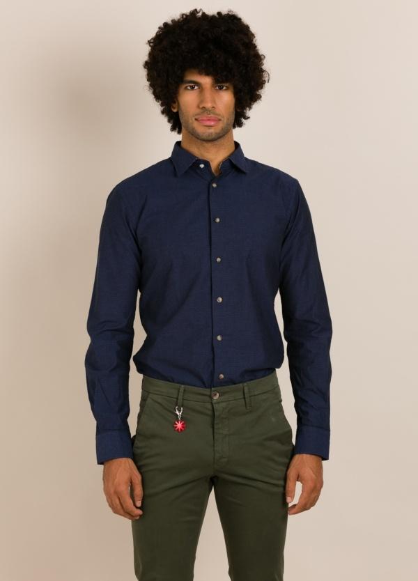 Camisa sport ALESSANDRO LAMURA azul