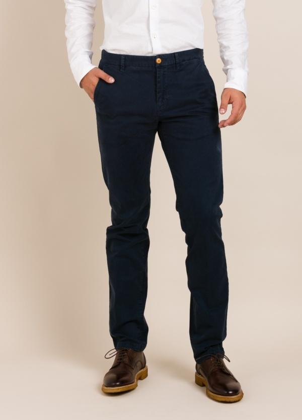 Pantalón chino FUREST COLECCIÓN regular fit azul
