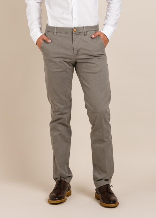 Pantalón chino FUREST COLECCIÓN regular fit gris