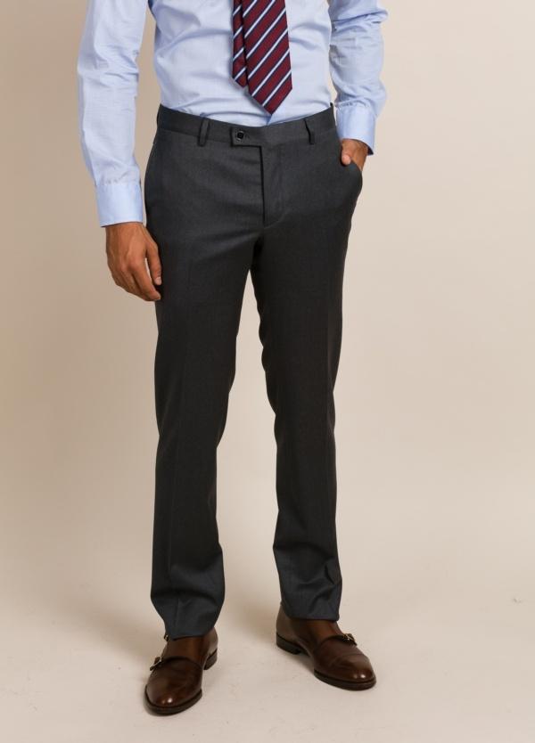 Pantalón De Vestir Furest Colección Color Gris
