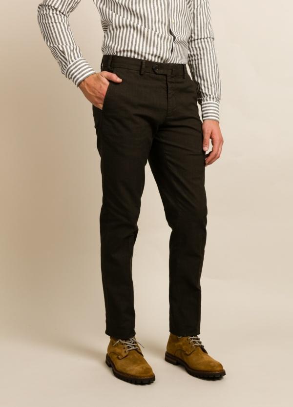 Pantalon Sport Furest Coleccion Slim Fit Kaki