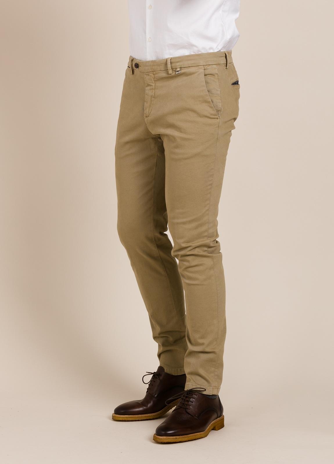 Pantalón chino PAOLONI beige.