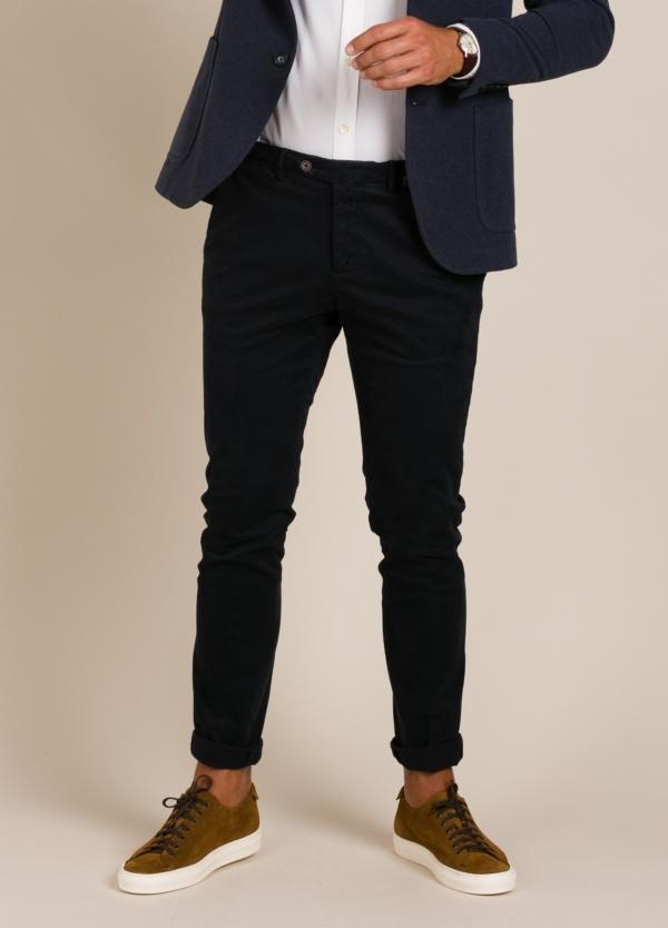 Pantalón chino PAOLONI azul marino