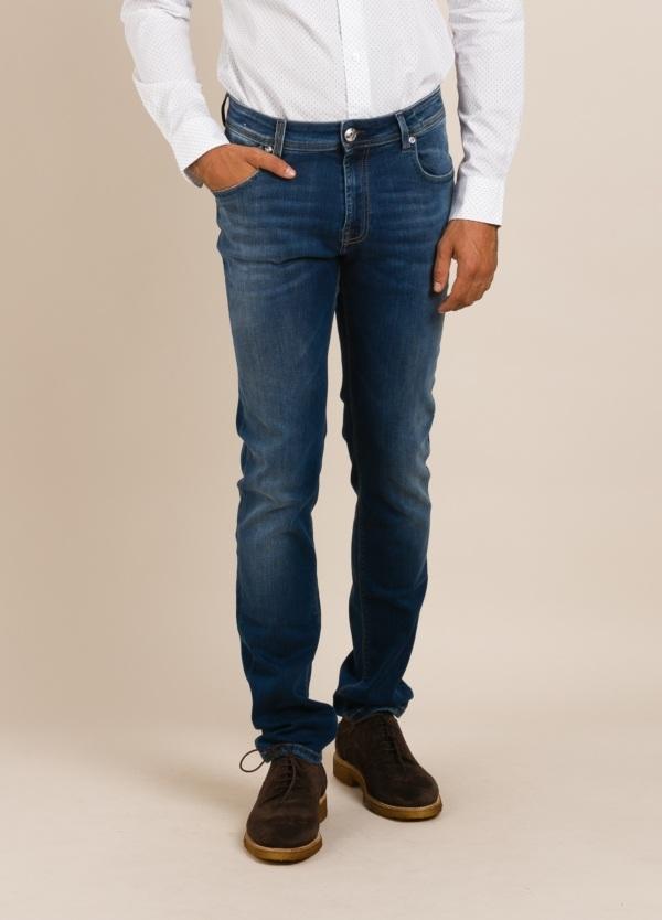 Pantalón tejano RE-HASH azul denim
