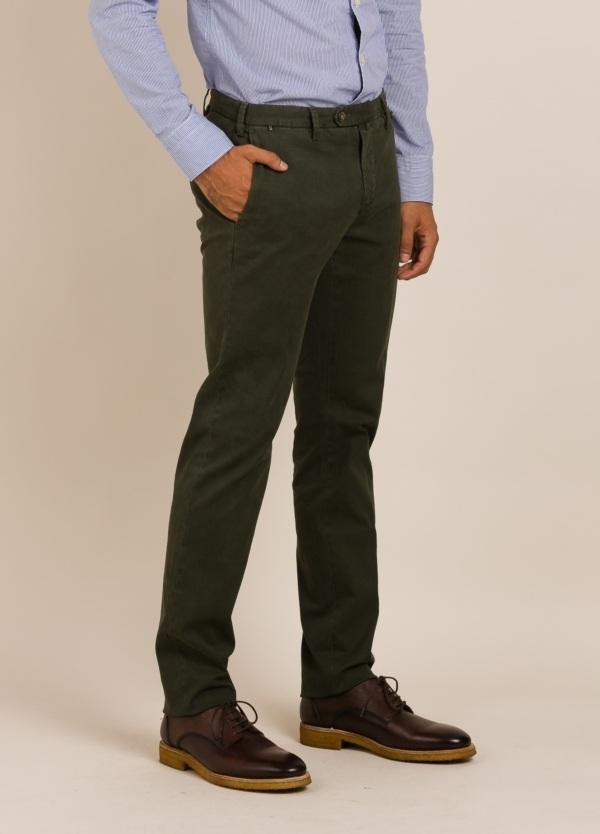 Pantalón chino AT.P.CO verde