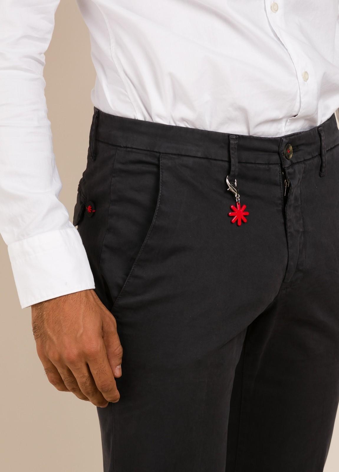 Pantalón MANUEL RITZ gris oscuro - Ítem2