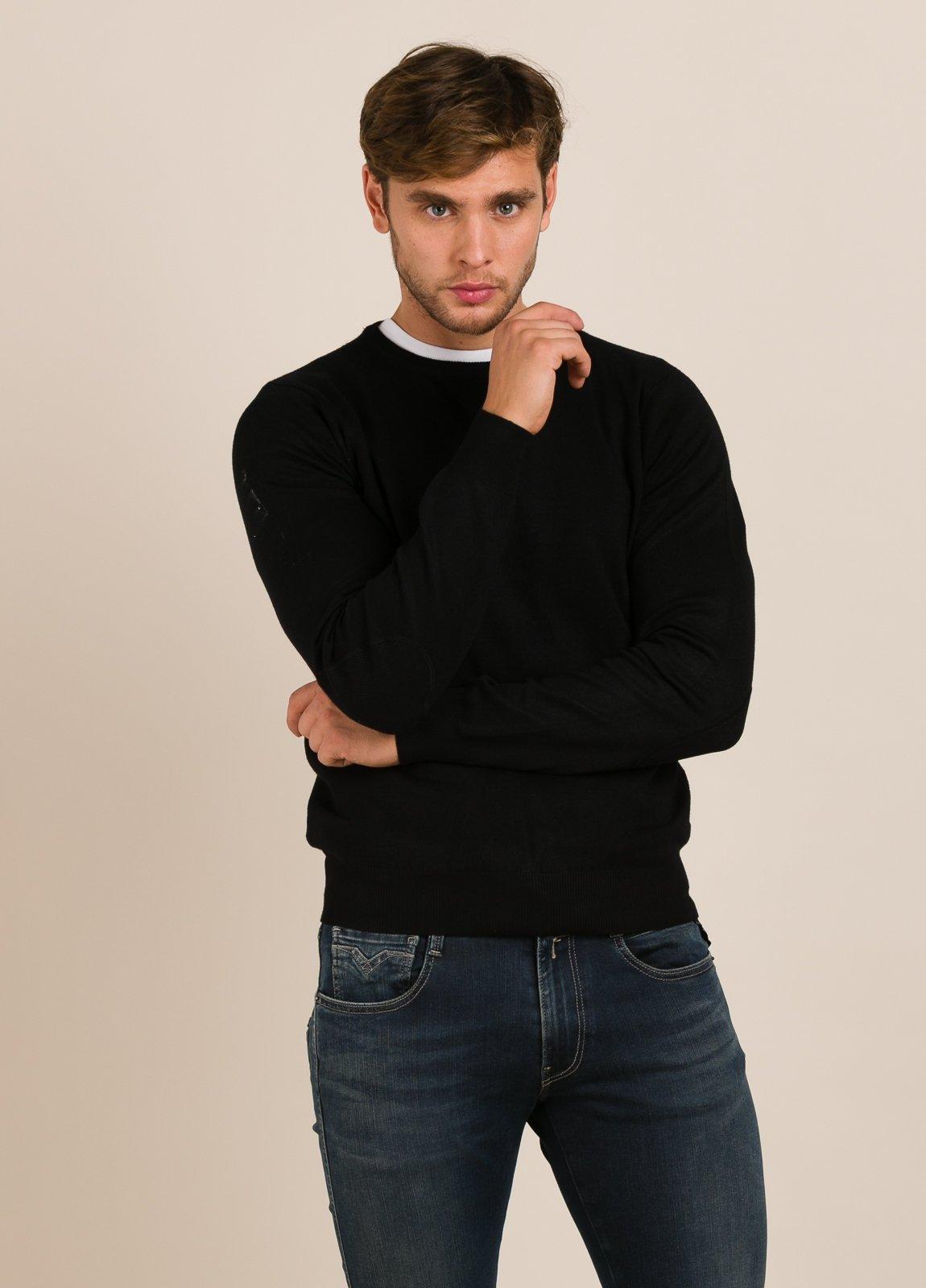 Jersey FUREST COLECCIÓN cuello redondo negro