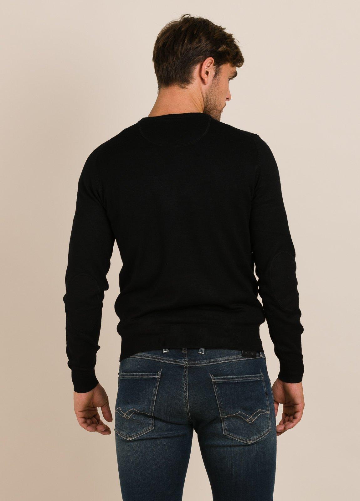 Jersey FUREST COLECCIÓN cuello redondo negro - Ítem1