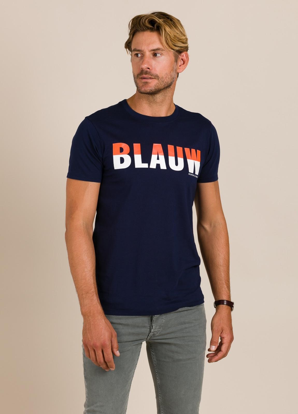 Camiseta SCOTCH & SODA azul marino