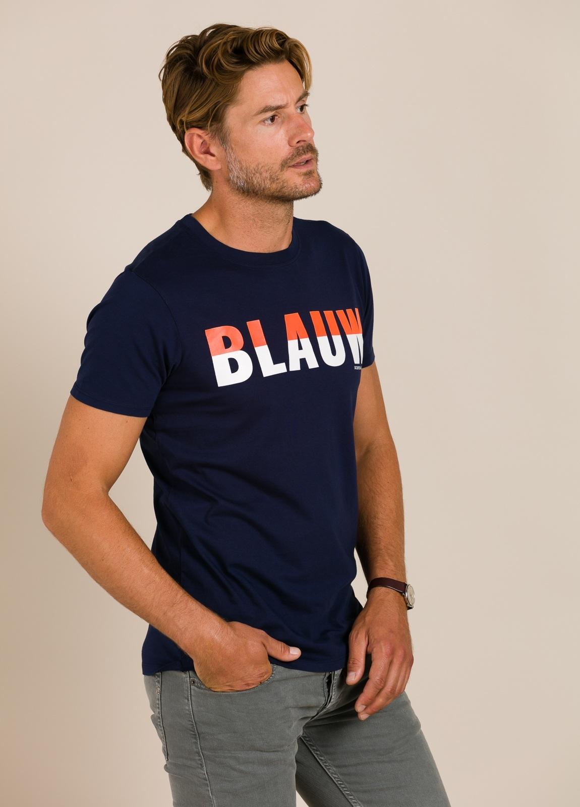Camiseta SCOTCH & SODA azul marino - Ítem3