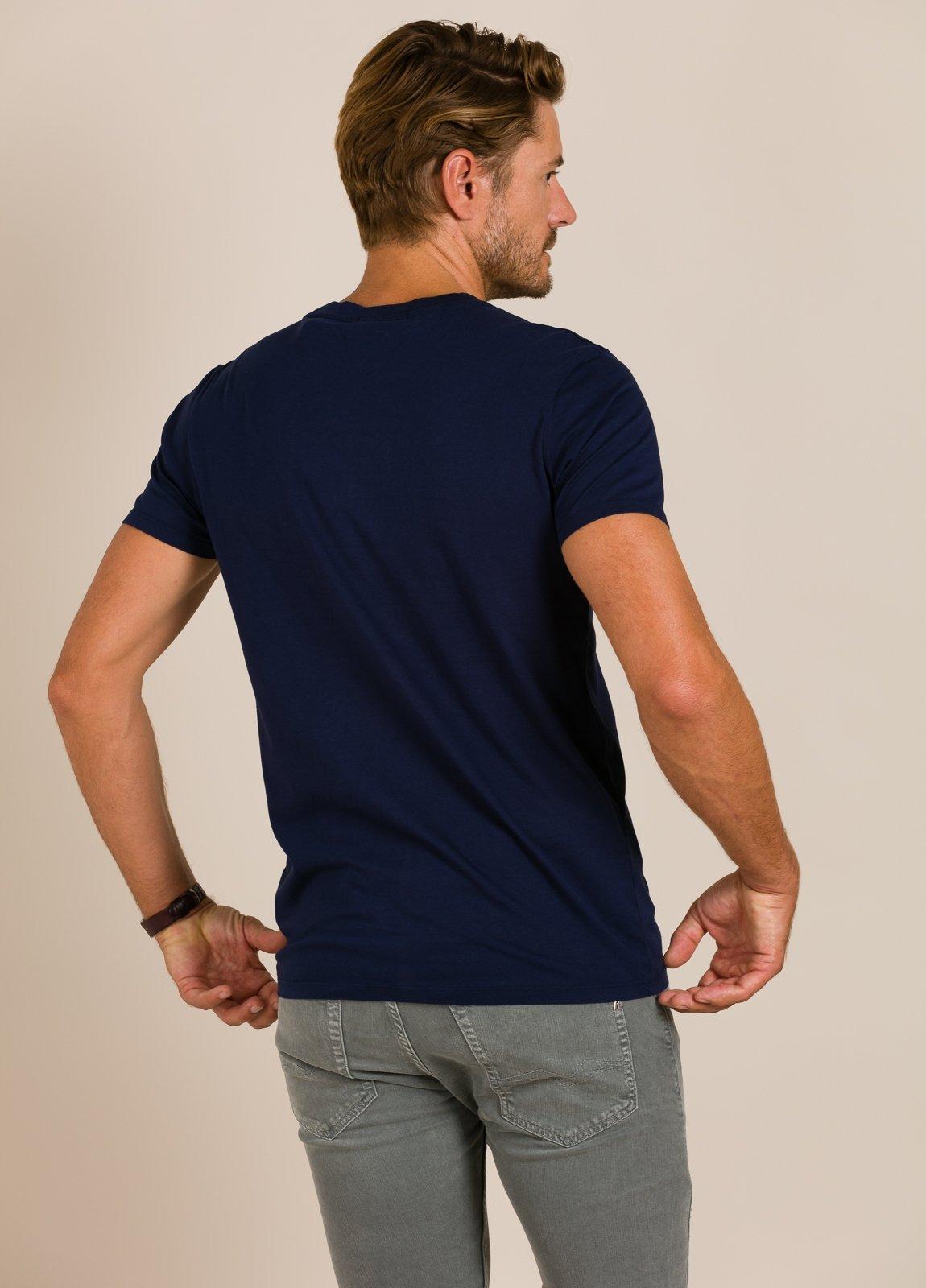 Camiseta SCOTCH & SODA azul marino - Ítem1
