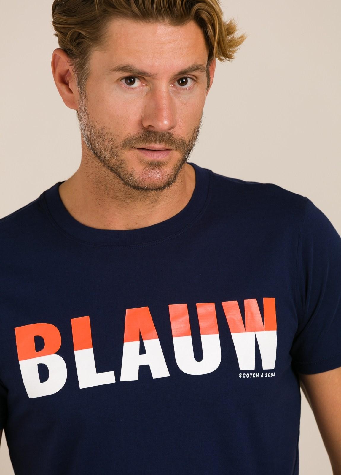 Camiseta SCOTCH & SODA azul marino - Ítem2