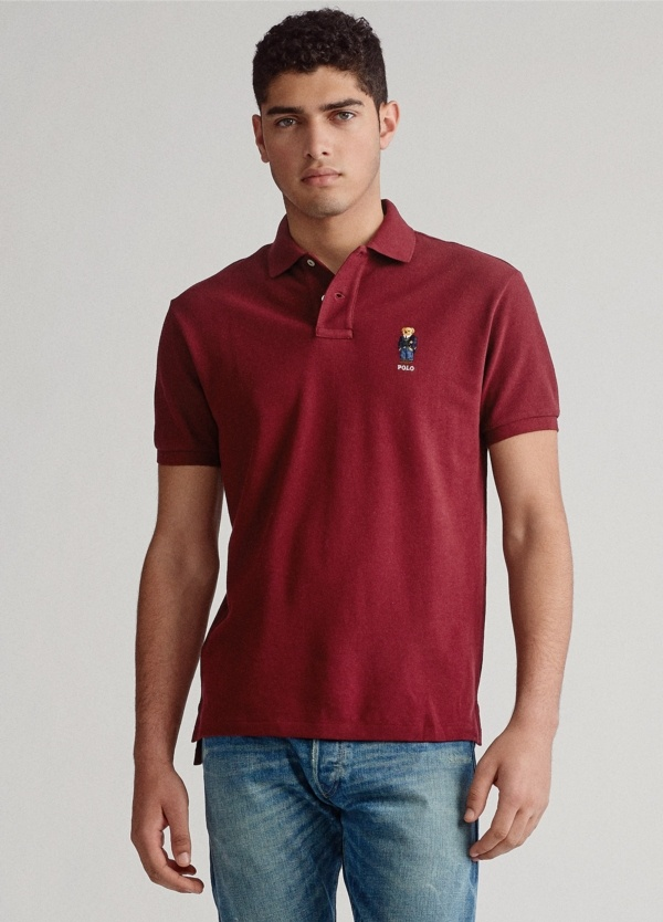 Polo POLO RALPH LAUREN color burdeos