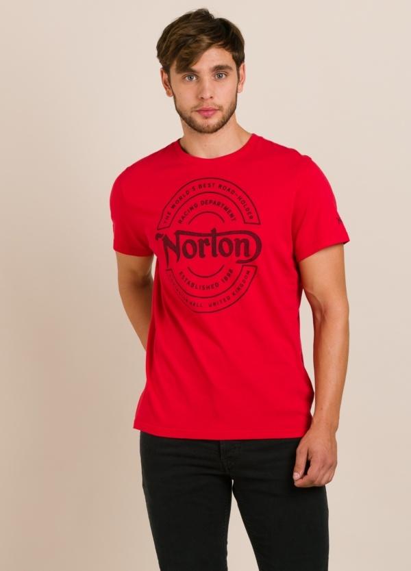 Camiseta NORTON roja