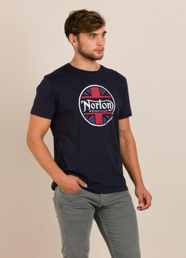 Camiseta NORTON azul