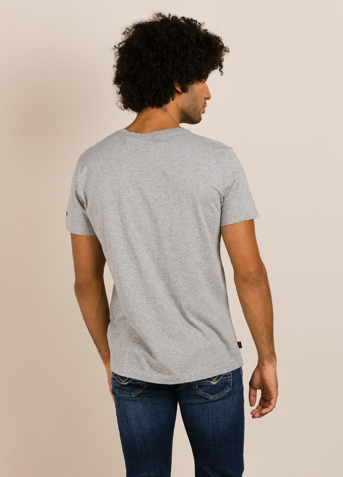 Camiseta NORTON gris con estampado gráfico - Ítem1