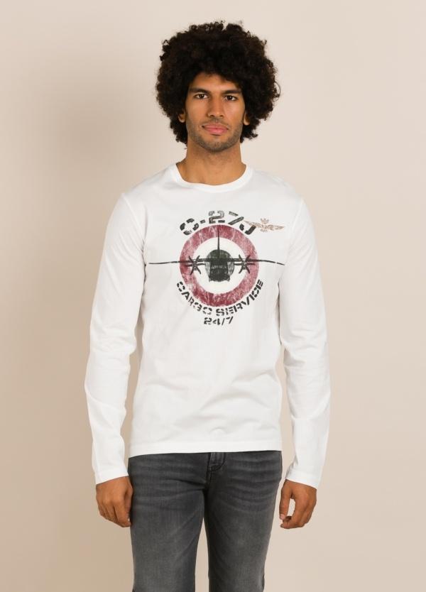 Camiseta AERONAUTICA MILITARE blanca