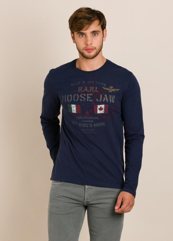 Camiseta AERONAUTICA MILITARE azul