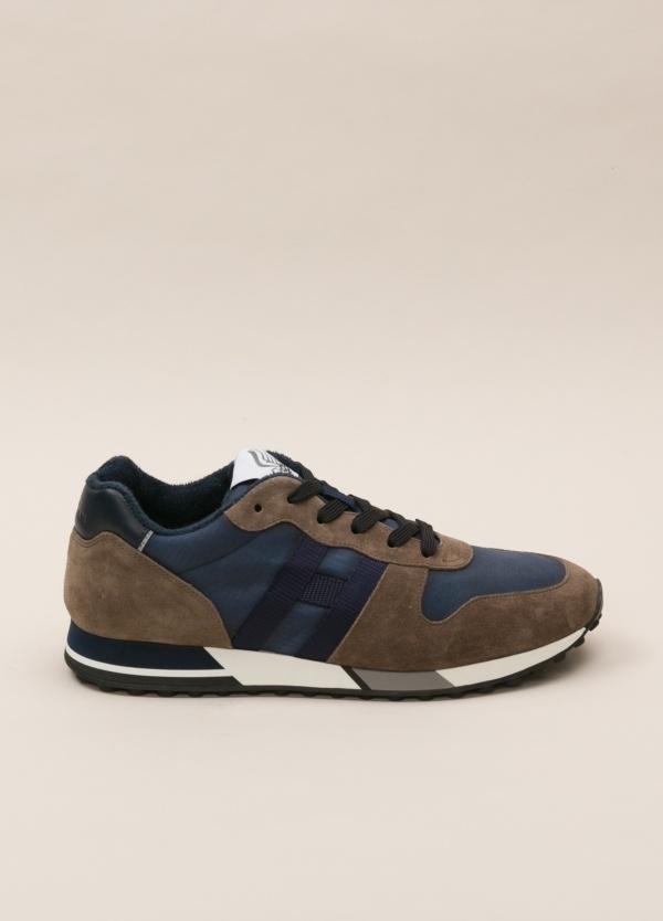 Zapatillas deportivas HOGAN tostado y azul