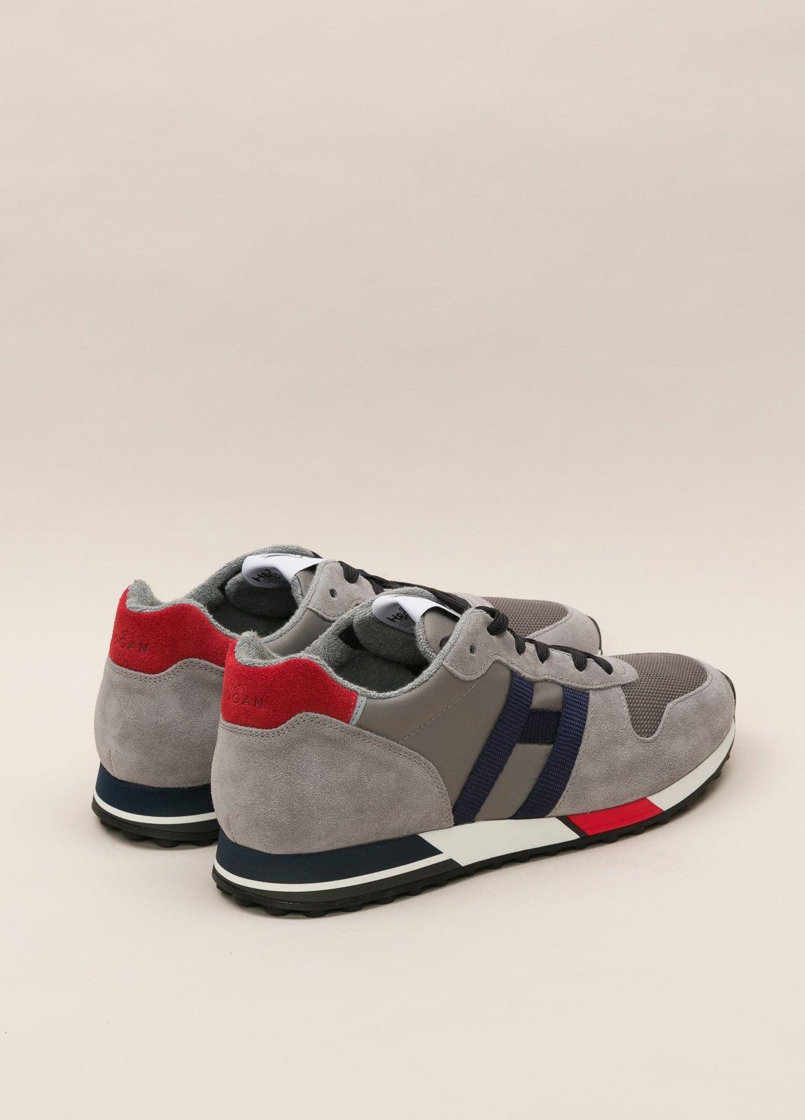 Zapatillas deportivas HOGAN gris y rojo - Ítem2