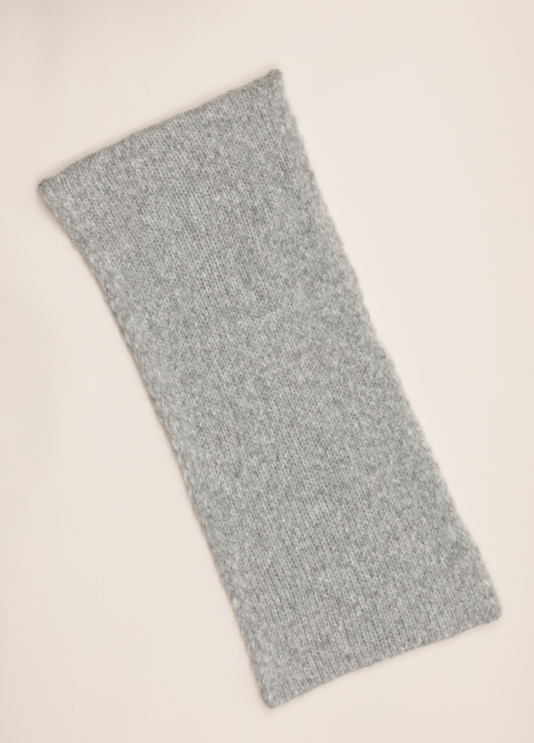 Bufanda tubular WOOL & CO gris