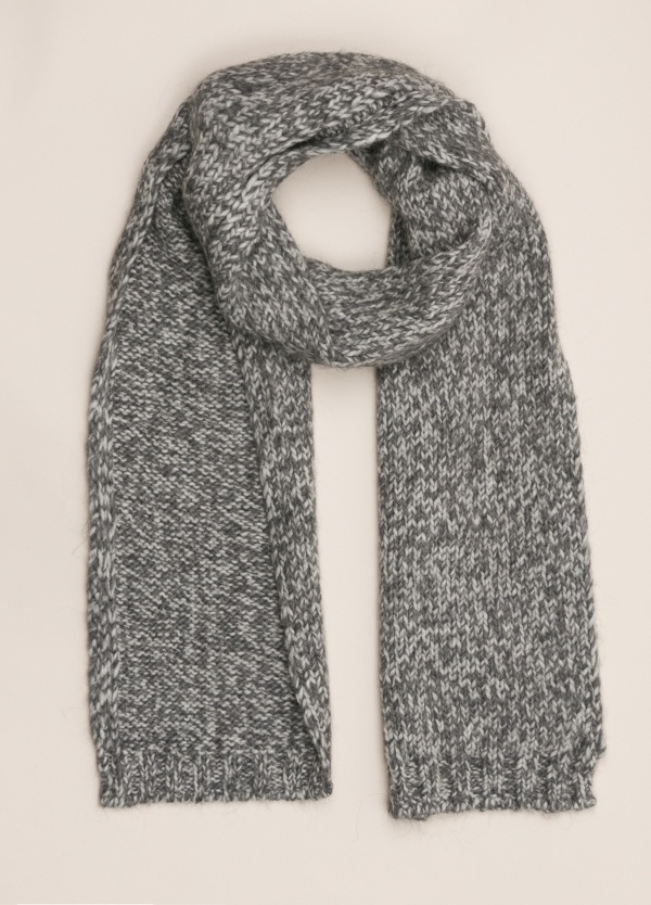 Bufanda WOOL & CO gris