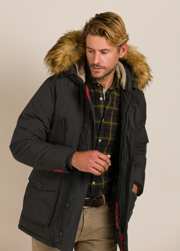Parka FREEDOMDAY gris oscuro