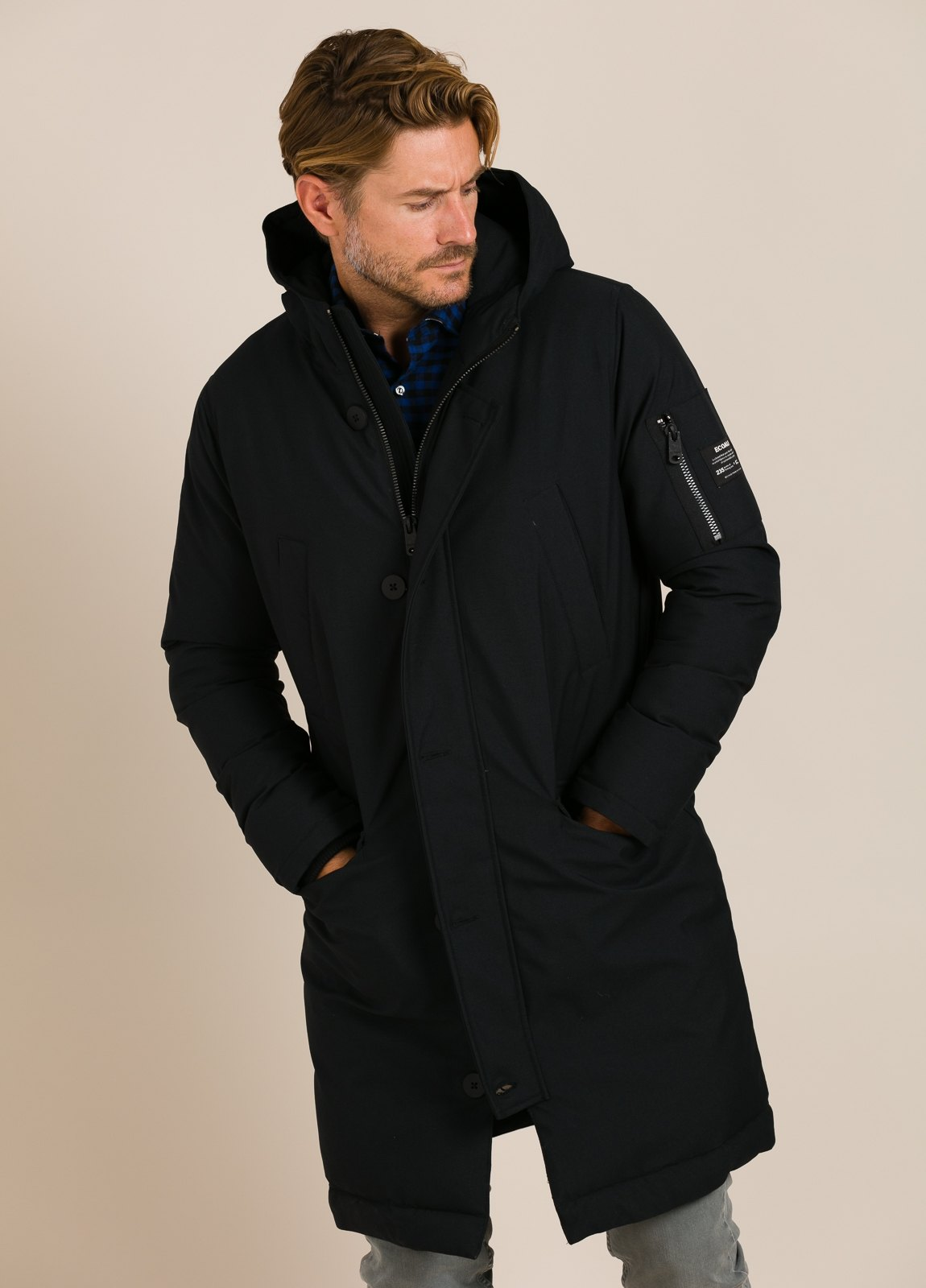 Parka ECOALF color negro