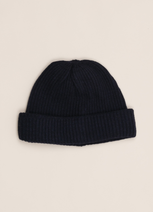 Gorro WOOL & CO marino