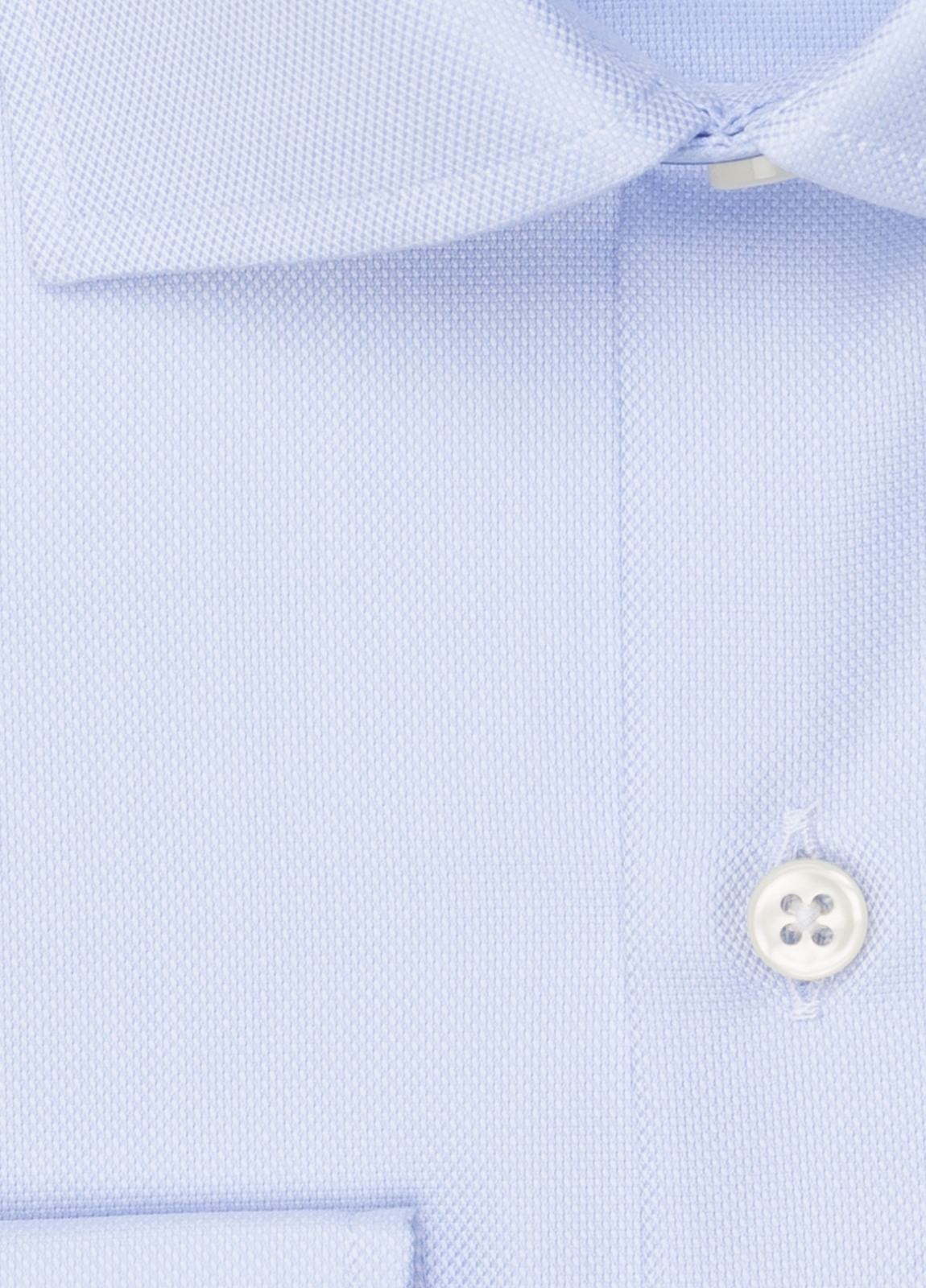 Camisa vestir FUREST COLECCIÓN SLIM FIT cuello italiano celeste - Ítem2