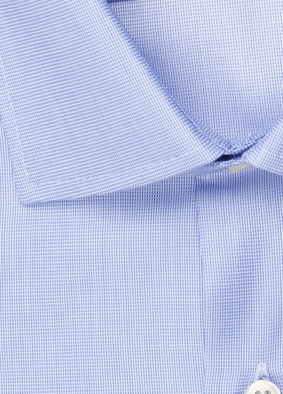 Camisa vestir FUREST COLECCIÓN SLIM FIT cuello italiano azul - Ítem2