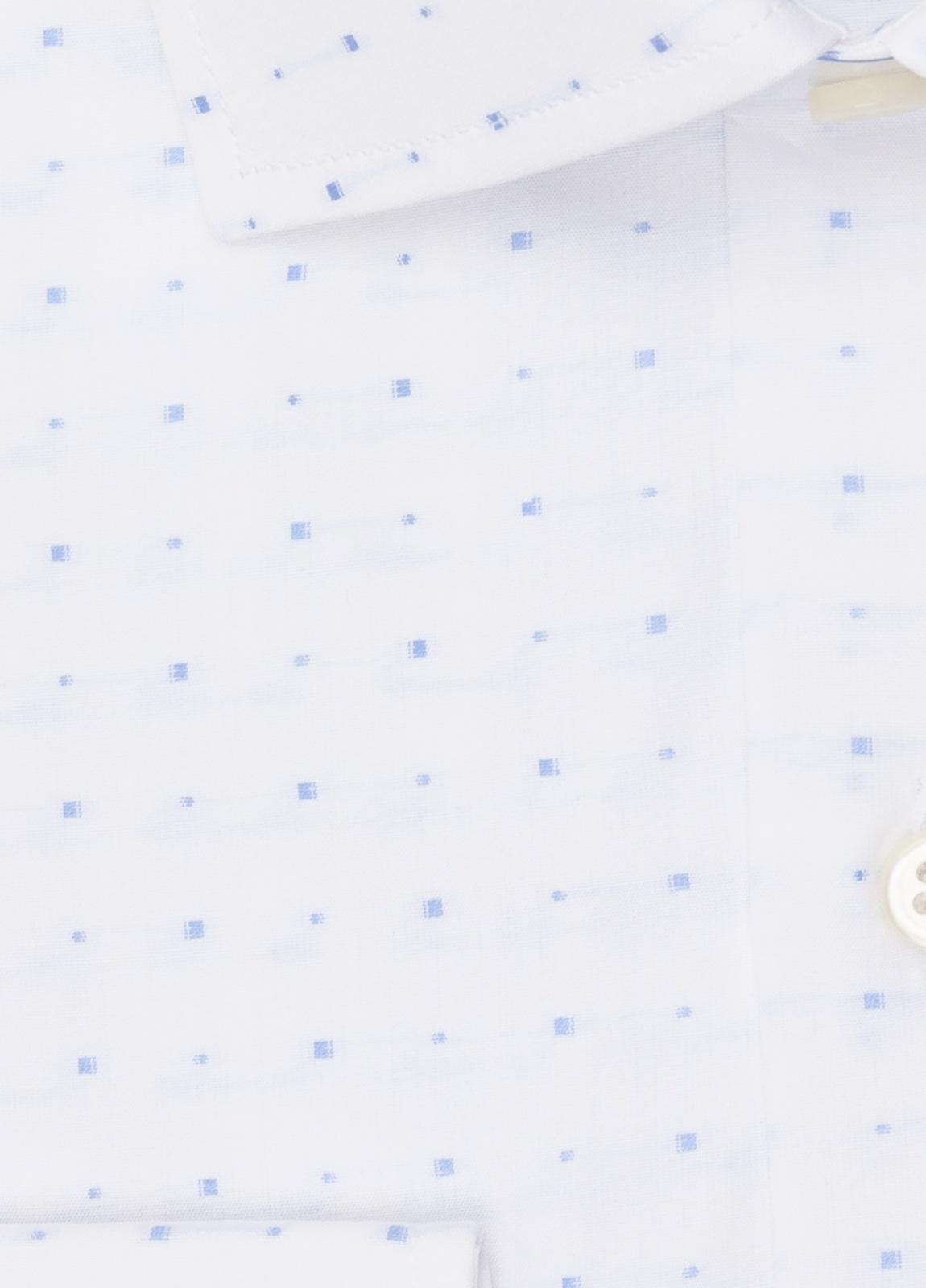 Camisa vestir FUREST COLECCIÓN SLIM FIT cuello italiano Fil Coupé dibujo geométrico - Ítem2