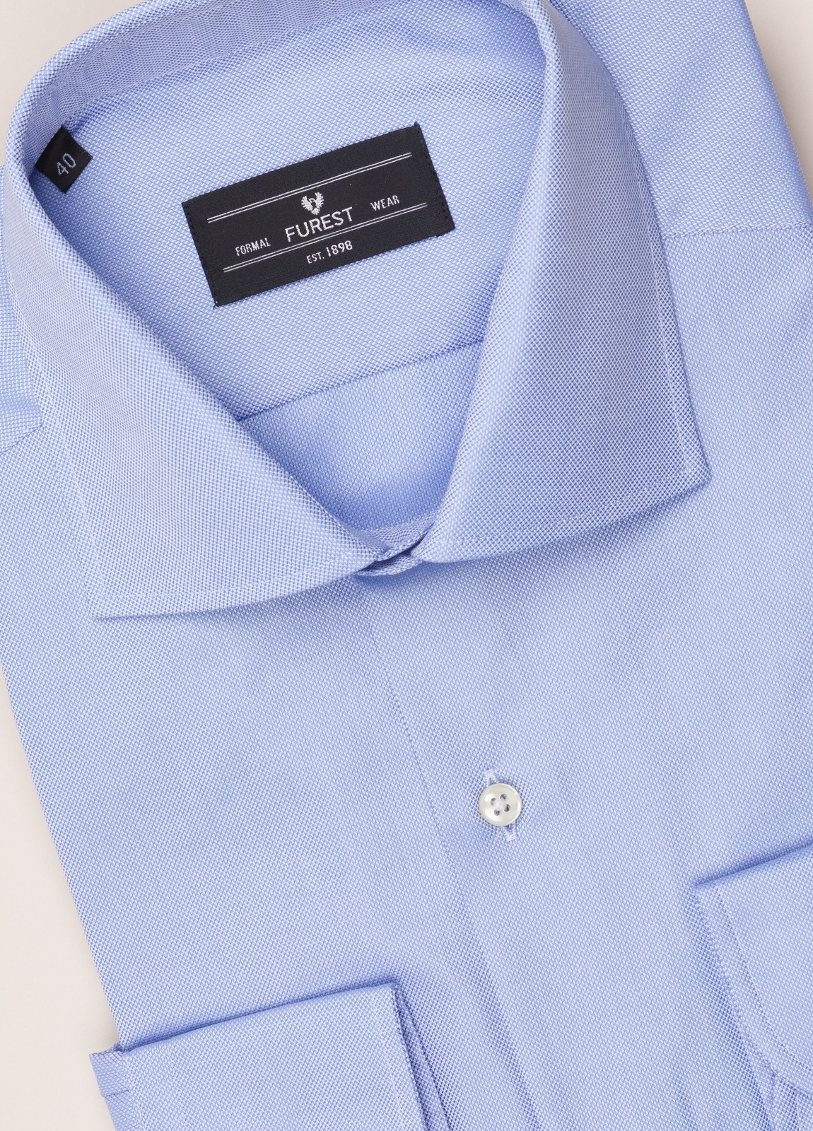 Camisa vestir FUREST COLECCIÓN REGULAR FIT celeste - Ítem1