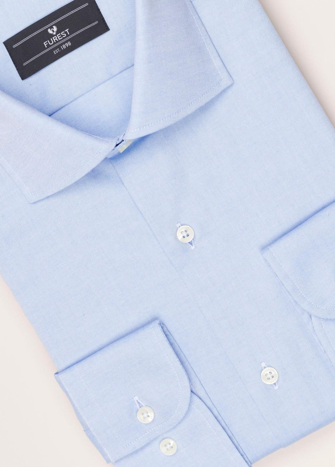 Camisa vestir FUREST COLECCIÓN REGULAR FIT pin point celeste - Ítem2