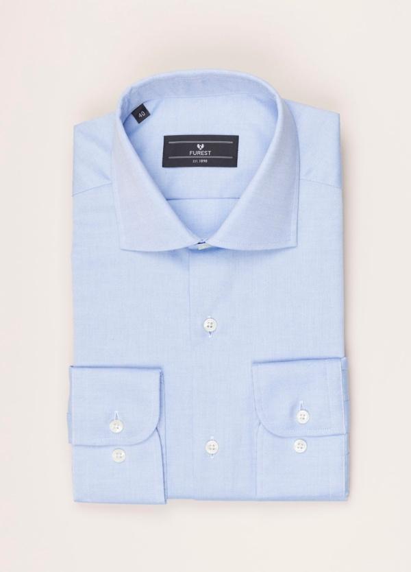 Camisa vestir FUREST COLECCIÓN REGULAR FIT pin point celeste