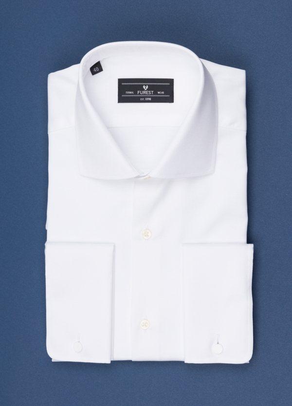 Camisa vestir FUREST COLECCIÓN Regular Fit Puño Doble blanco