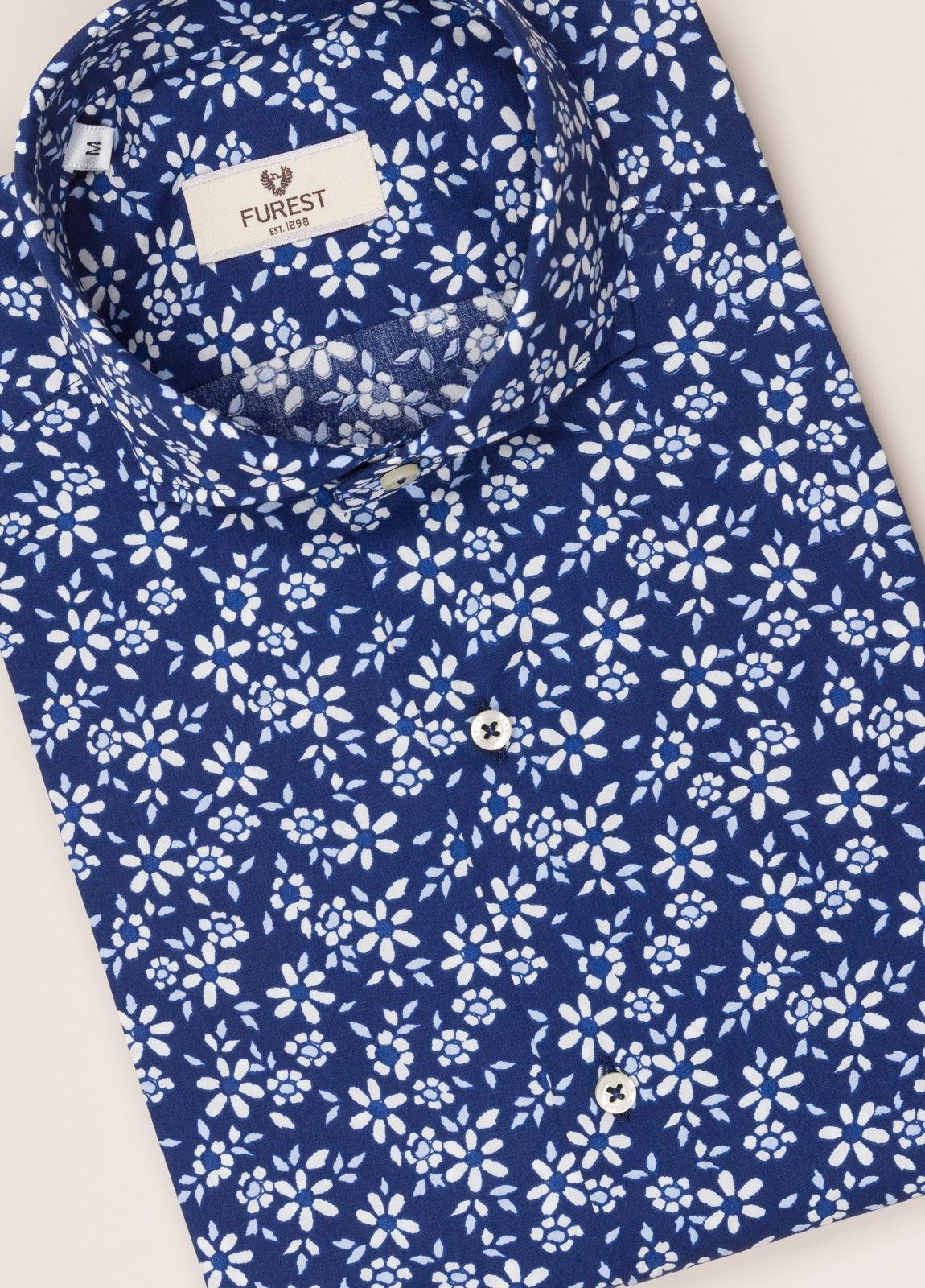Camisa sport FUREST COLECCIÓN slim fit flores. - Ítem2