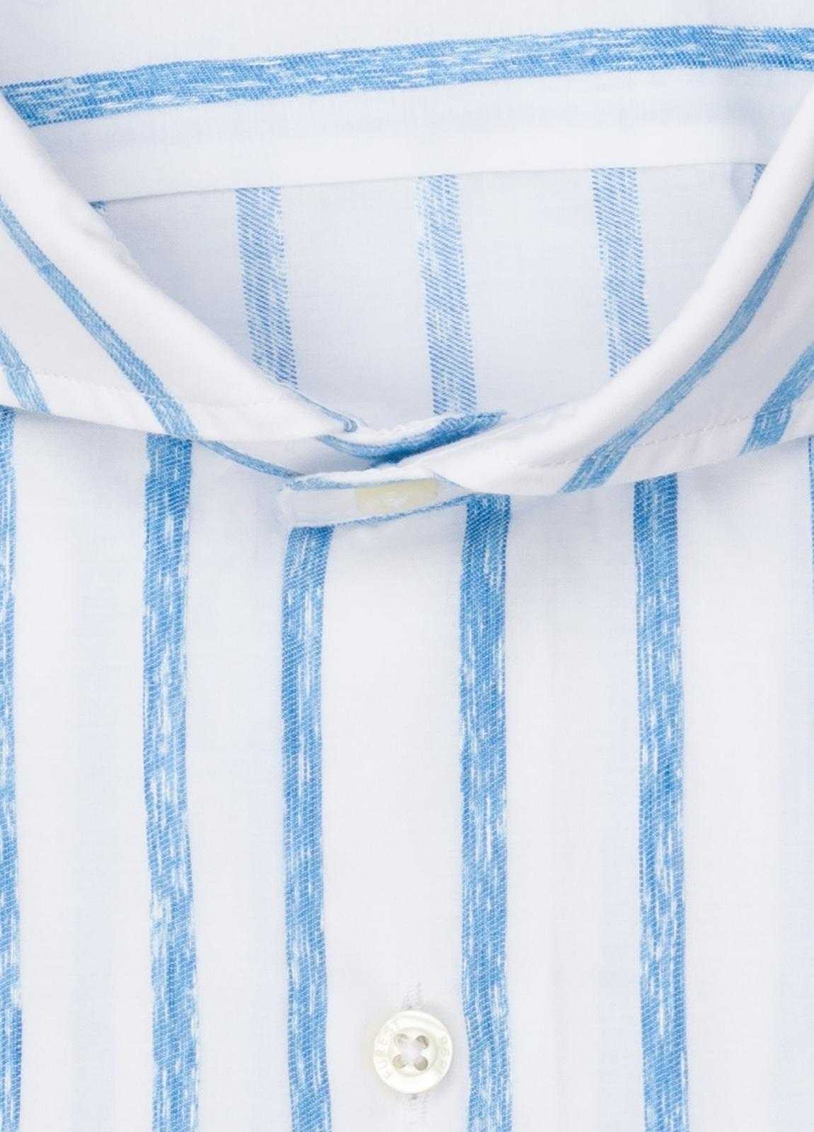 Camisa sport FUREST COLECCIÓN SLIM FIT rayas azul - Ítem1
