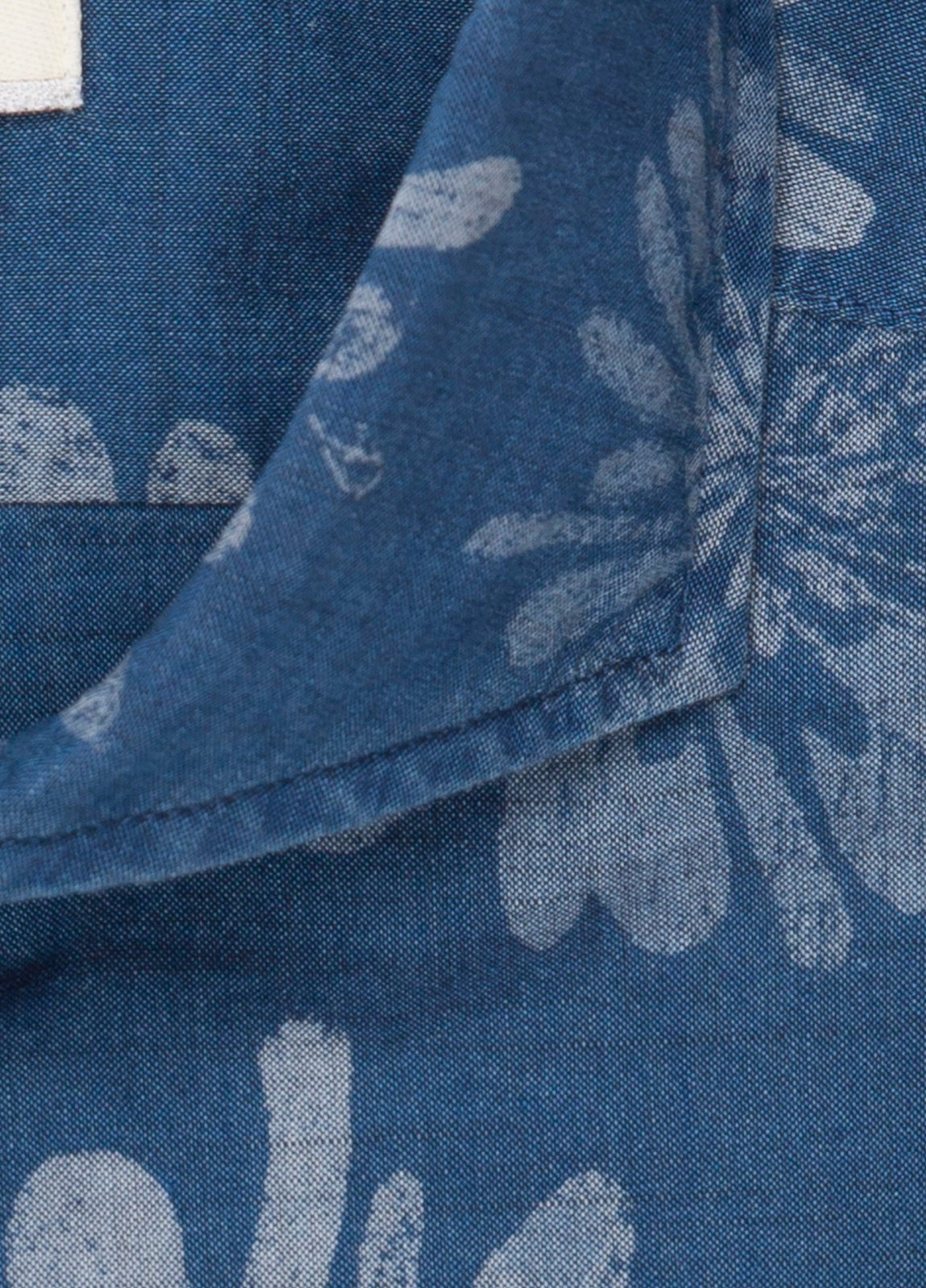 Camisa sport FUREST COLECCIÓN SLIM FIT dibujo azul denim - Ítem2