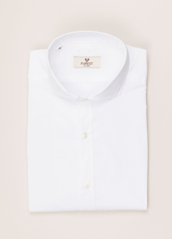 Camisa sport FUREST COLECCIÓN SLIM FIT fil coupé blanco