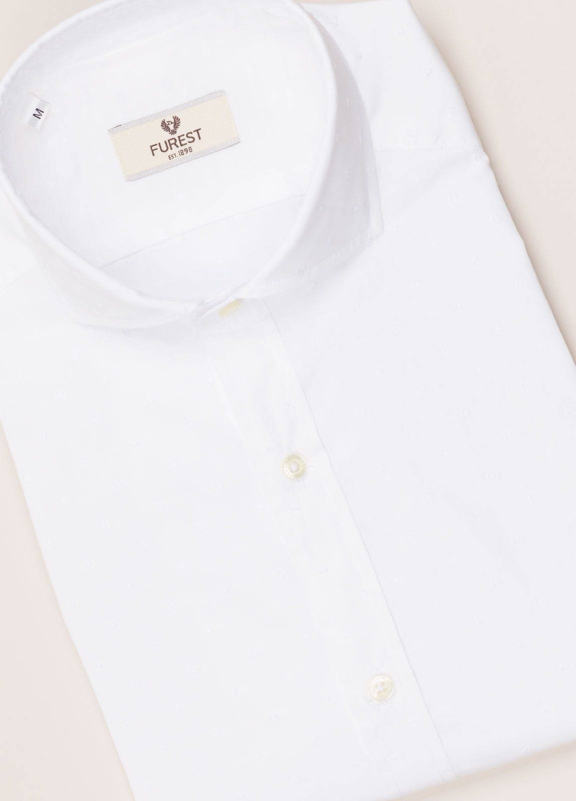 Camisa sport FUREST COLECCIÓN SLIM FIT fil coupé blanco - Ítem2