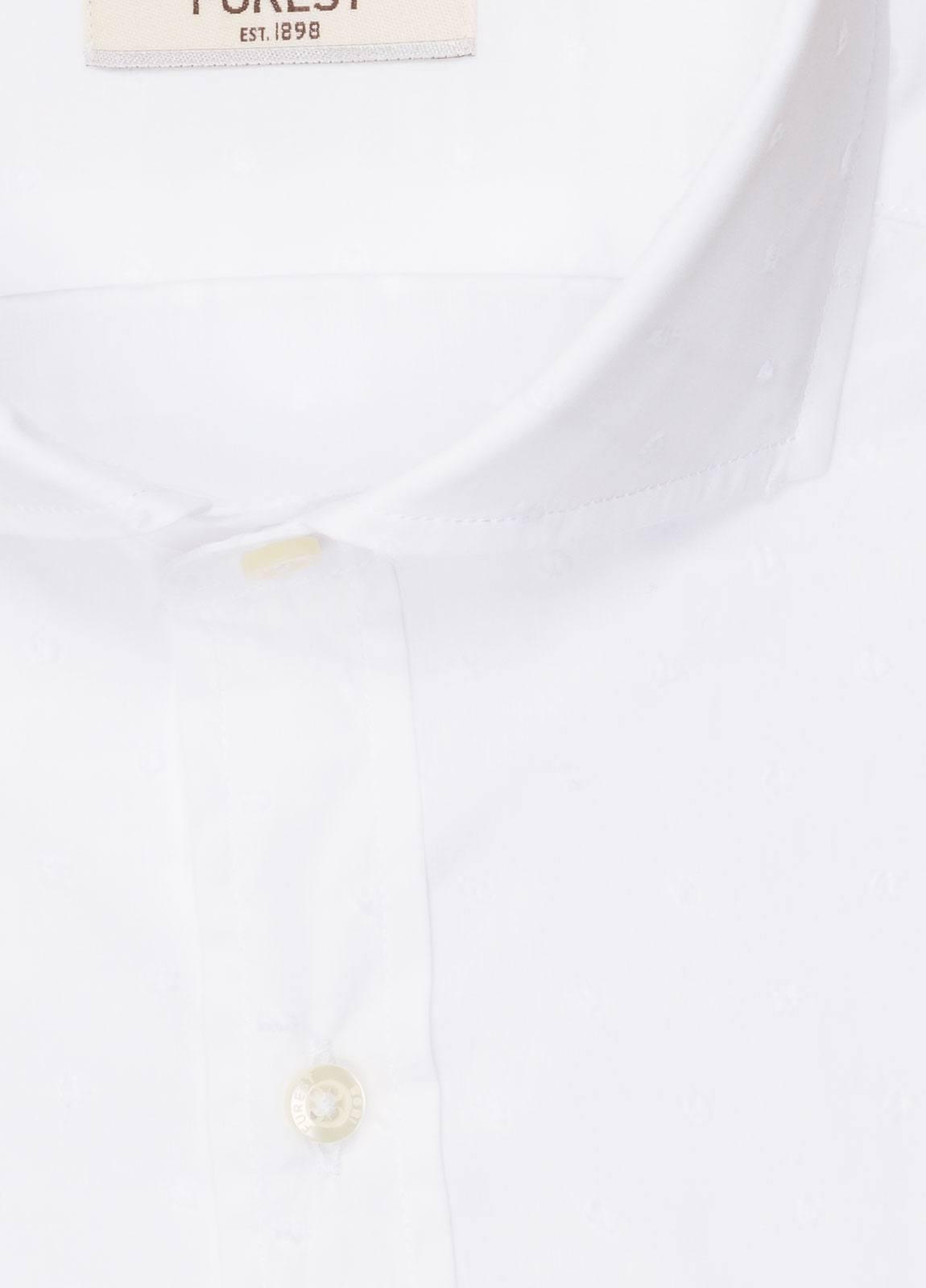 Camisa sport FUREST COLECCIÓN SLIM FIT fil coupé blanco - Ítem1