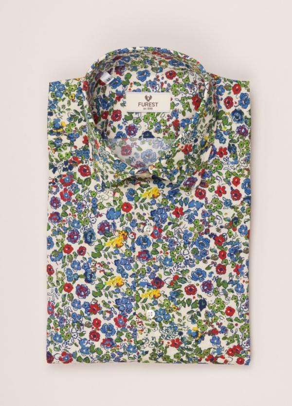 Camisa sport FUREST COLECCIÓN SLIM FIT flores