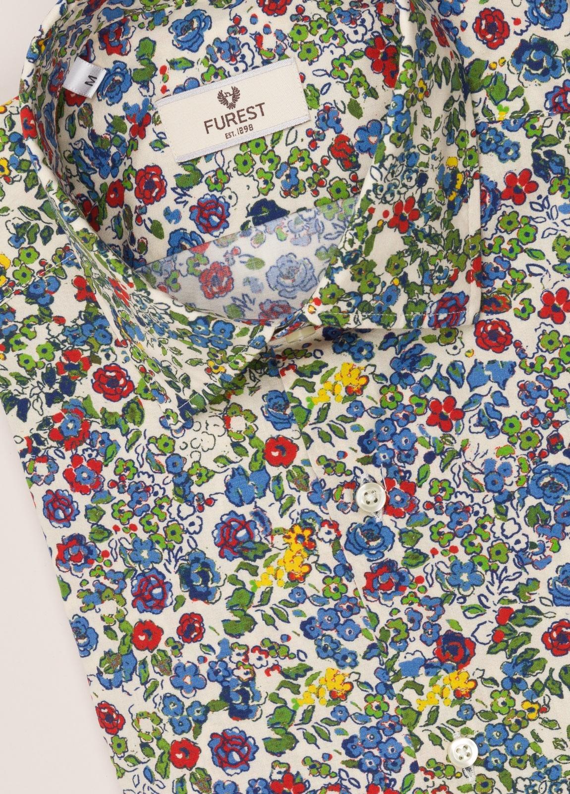 Camisa sport FUREST COLECCIÓN SLIM FIT flores - Ítem2