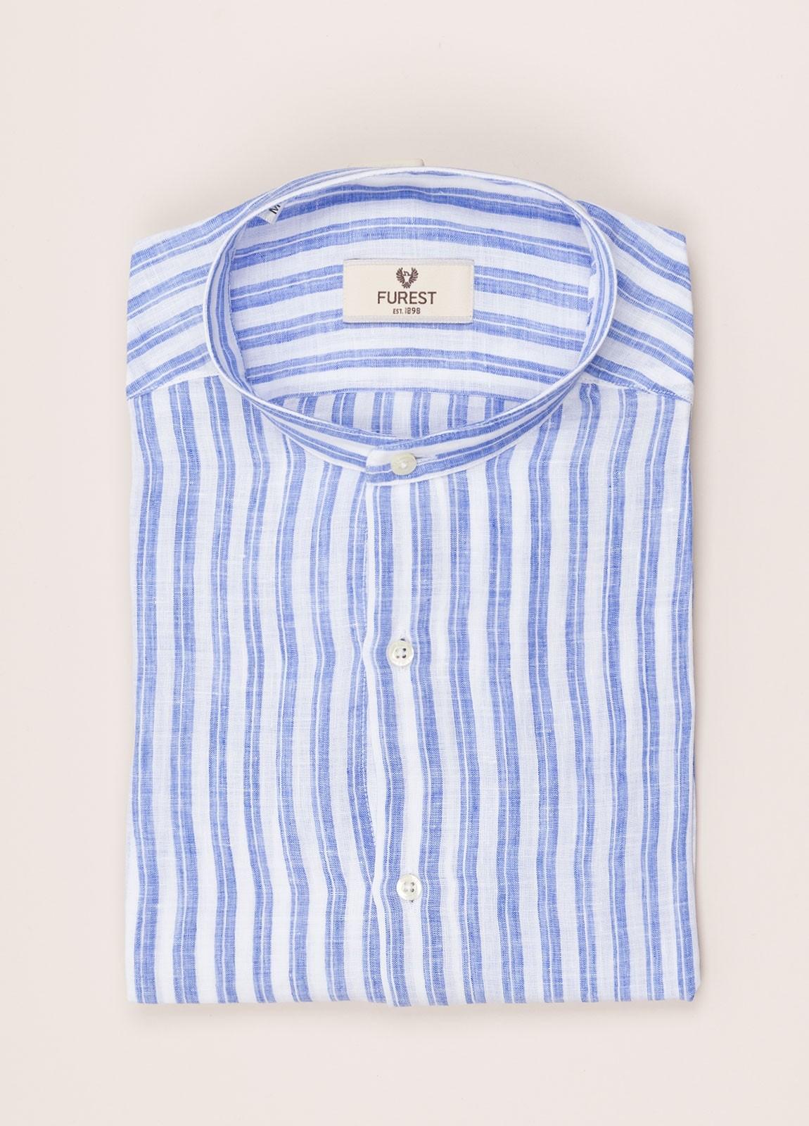 Camisa sport FUREST COLECCIÓN Slim fit cuello MAO Lino