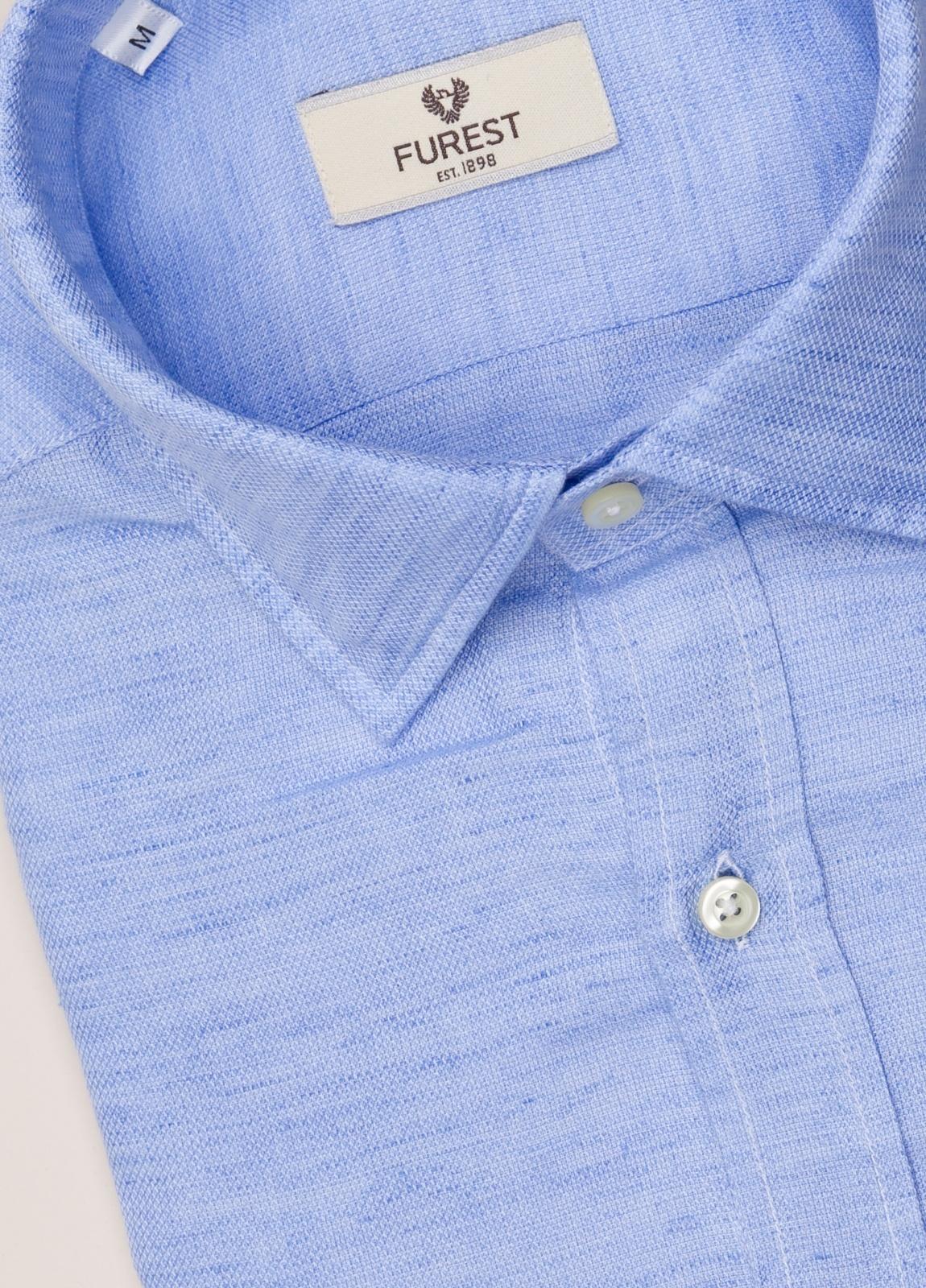 Camisa sport FUREST COLECCIÓN REGULAR FIT celeste - Ítem1