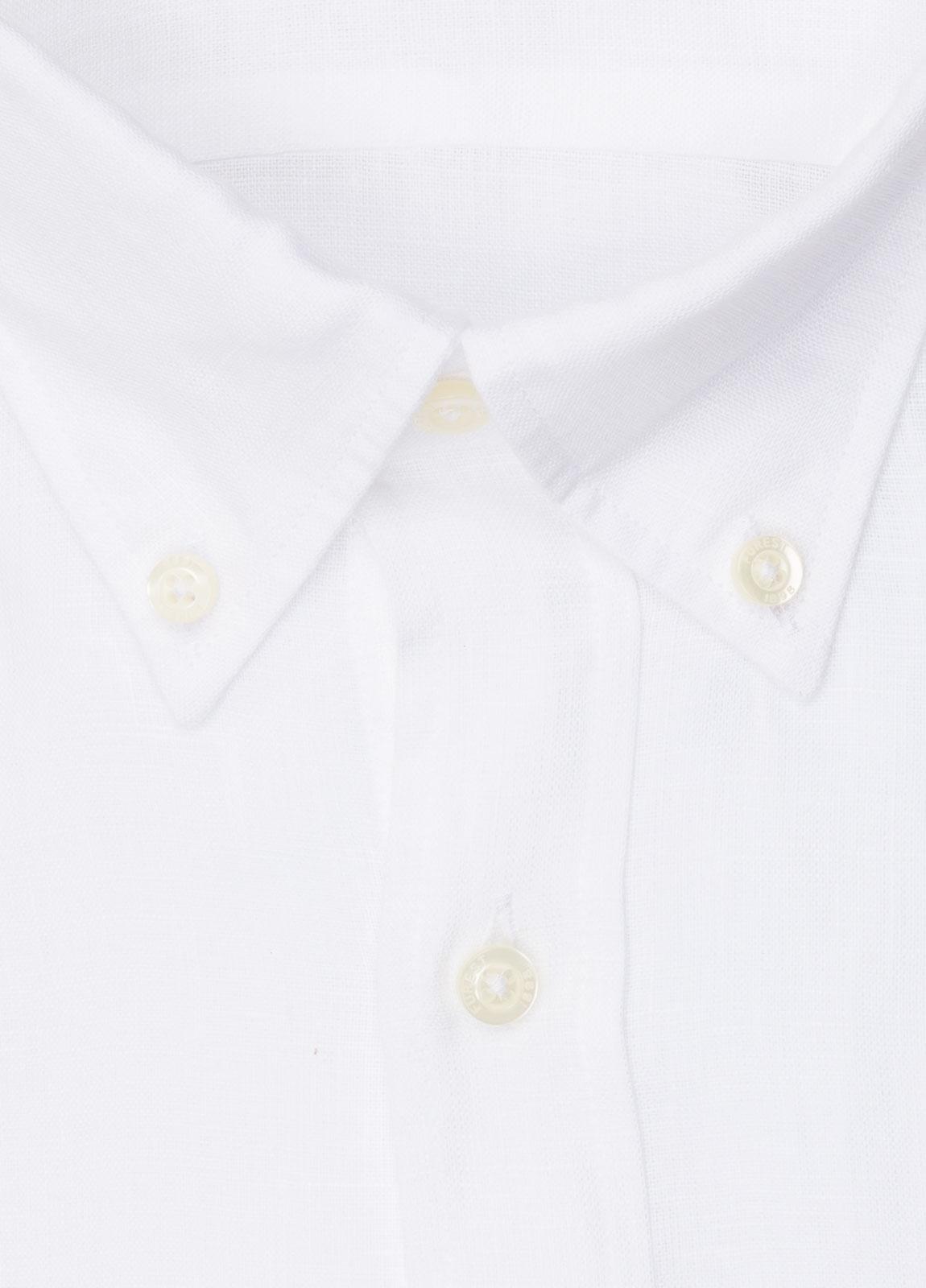 Camisa sport FUREST COLECCIÓN REGULAR FIT Lino blanco - Ítem1