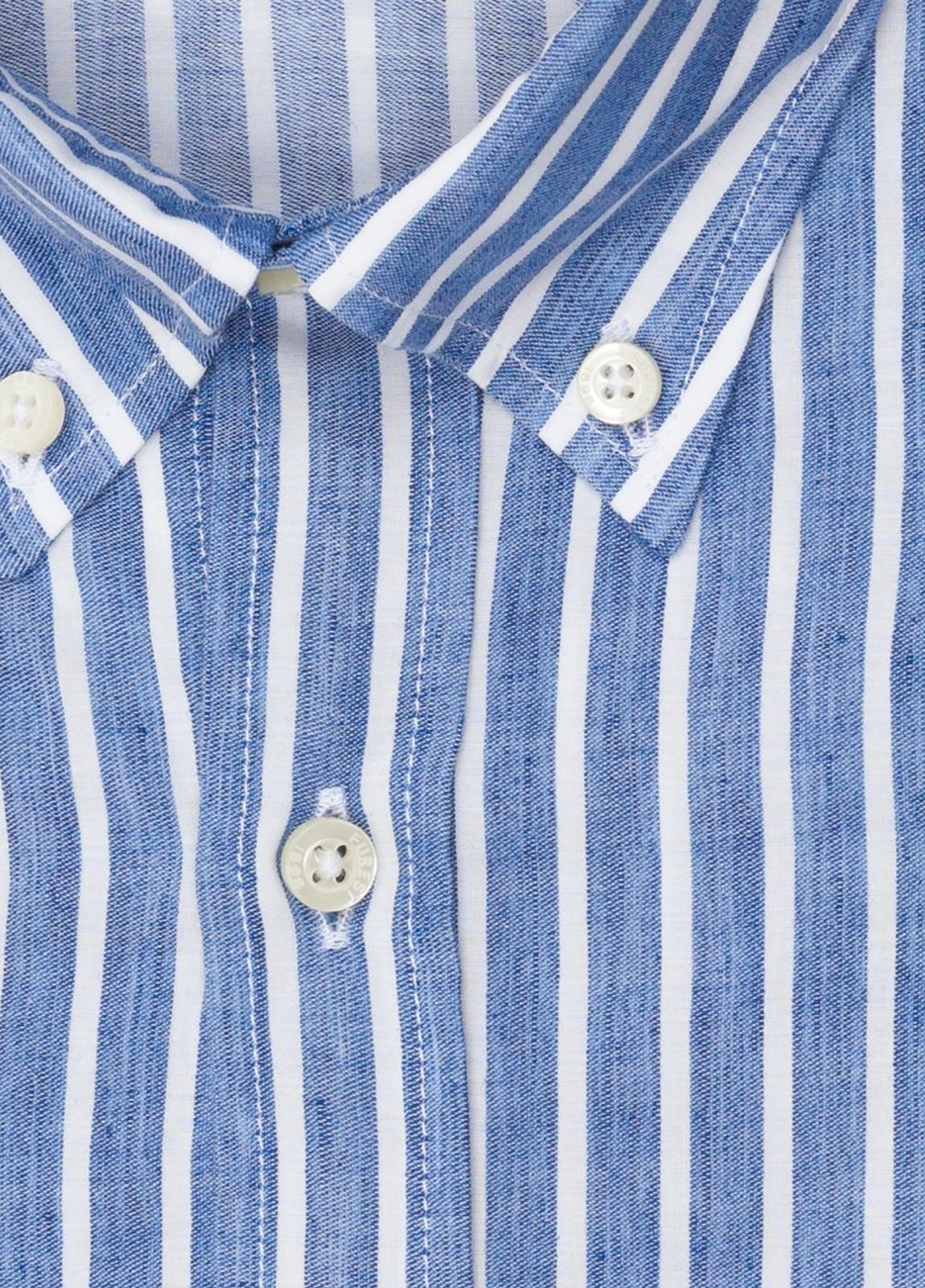 Camisa sport FUREST COLECCIÓN REGULAR FIT rayas azul - Ítem2