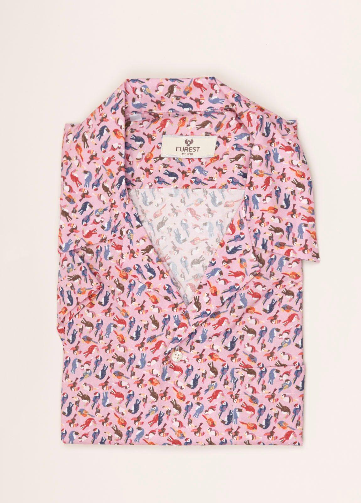 Camisa sport FUREST COLECCIÓN modelo HAWAI rosa - Ítem2